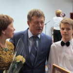 Вручение стипендии Мэра г. Новочеркасска Гридину А.